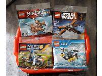 Lego x 4 & Star Wars Poster