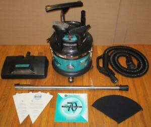 FILTER QUEEN MAJESTIC GREEN VACUUM CLEANER MINT HEAVY DUTY + 5 YEAR WARRANTY by GreenVacs BRANTFORD ONTARIO CANADA