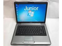 Toshiba Quick Laptop, 160GB, 2GB Ram, Windows 7, Microsoft office, Good Condition, Antivirus, Wifi