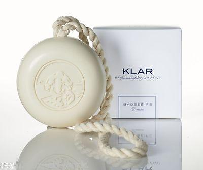 Damen Badeseife m. Kordel, Ingwer, weiße Lotusblüte, KLAR SEIFEN (5,80 €/100 g)