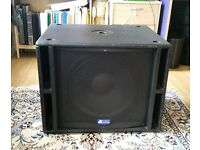 "DB TECHNOLOGIES PA SUBWOOFER SPEAKER 15"" ACTIVE"