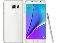 Samsung galaxy note 5 unlocked good condition with warranty and accessories