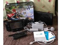 Nintendo Wii U, with Mario Kart. Boxed