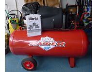 Clarke Raider 100 3hp 100 Litre Air Compressor 2013 model