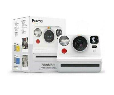 NEW Polaroid Now Autofocus i - Type Instant Photograph Camera In White 2020