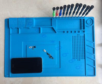 Silicone Mat Heat Resistant Hot Air Soldering Station Repair Pad Platform45x30cm
