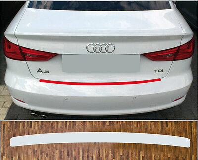 Ladekantenschutz Lackschutzfolie transparent Audi A3 Limousine Typ 8V, ab 2013
