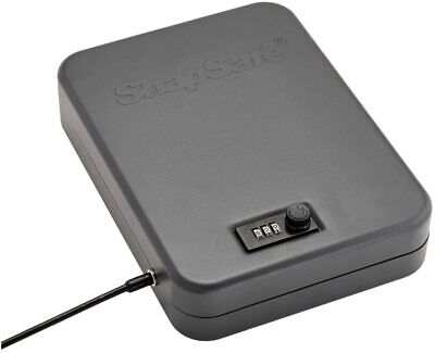 Snapsafe Lock Box Provides Secure Combination Heavy Steel Secure Storage Thick