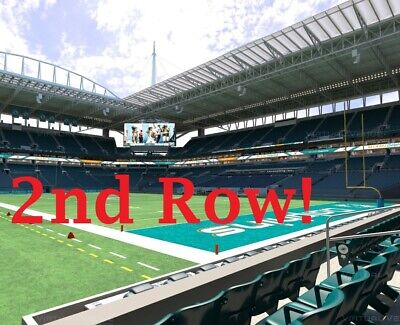 2 Cincinnati Bengals at Miami Dolphins Football Tickets