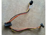 Mixed 50-LOT SATA  HDD Data Cable Right Angle Straight HP Dell Lenovo IBM