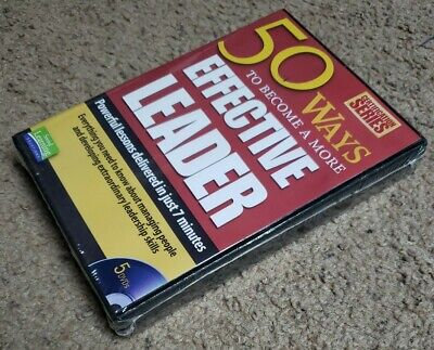 50 Ways to Become a More Effective Leader - CERTIFICATION SERIES -  5 DVD set