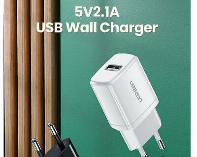 Chargeur USB secteur prise murale Ugreen® iPhone smartphone rapide 5V 2.1A