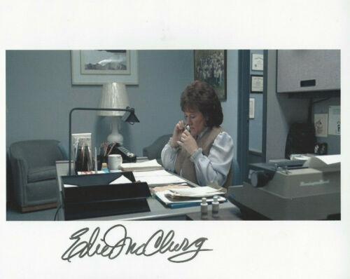 Actress EDIE McCLURG autographed 8X10 color photo FERRIS BUELLER'S DAY OFF