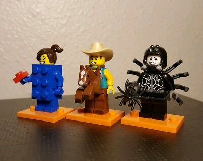 NEW Lego Minifig Boy//Girl  RED SCARF Cowboy Bandit Minifigure Bandana