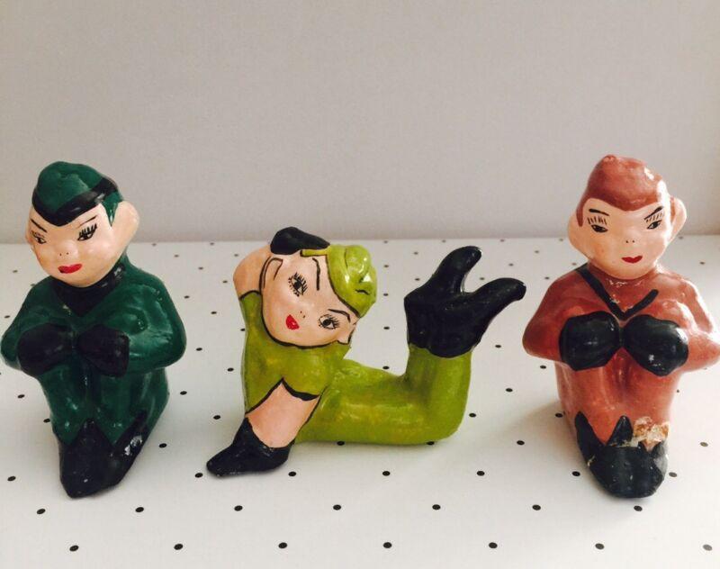 Vintage Pixie Elves