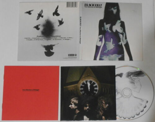 Black Belt - Two Minutes to Midnight  -  U.S. cd, digipak