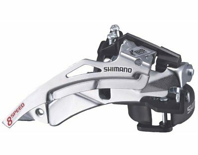 30 SPD SHIMANO SLX DYNA SYSTEM FD-M660 10 SPEED BIKE FRONT GEAR MECH DERAILLEUR 34.9mm DUAL PULL ie CAN BE TOP PULL OR BOTTOM PULL