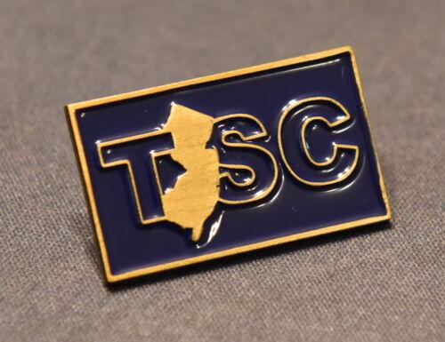 "Trenton State College (TSC) Lapel Pin - 1.25"" x 0.75"" - Free Shipping"