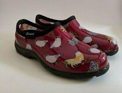 Sloggers Women's Waterproof Rain and Garden Shoe Chickens Ba