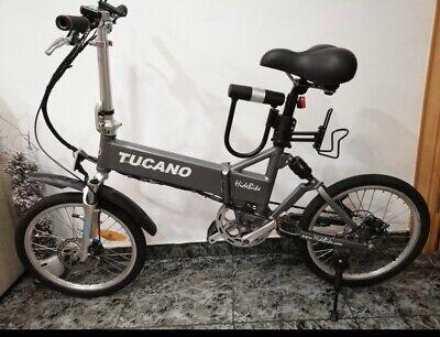 """bicicleta electrica tucano hb 20""""- Motor 250W –36V Brushless"""