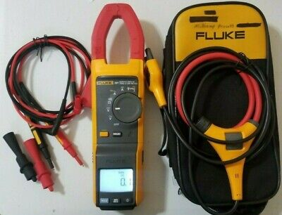 Used Fluke 381 True-rms Acdc Clamp Meter With Iflex More Tp 239678