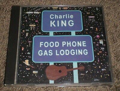 Food Phone Gas Lodging Charlie King~1990 Political Satire Folk CD~FAST SHIPPING!