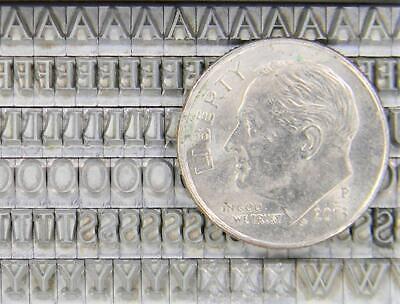 Alphabets Letterpress Print Type Import 12pt Post Mediaeval Mn65 6