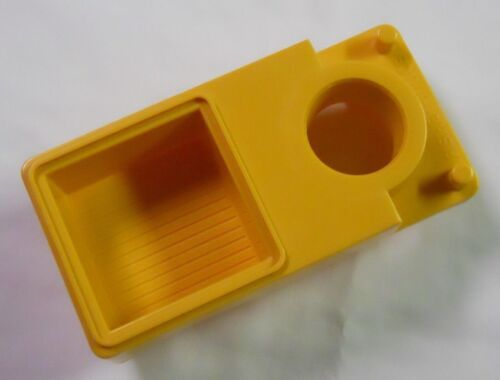 1979 Fisher Price Play Family Replacement Part-Offshore Cargo Base Crane Barge