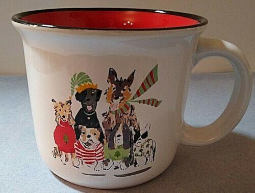 Boston Warehouse Holiday Dogs Mug