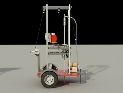 Plans Water Well Drill Drilling Equipment Driller Tool Diy Build Your Own