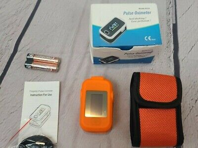 Aeon Technology A310 Finger Pulse Oximeter For Sports And Aviation-orange