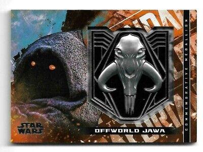 2020 Topps Star Wars The Mandalorian Season 1 Medallion M-JM Offworld  Jawa