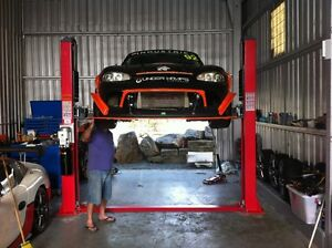 Launch 3.5t car hoist automotive lifts 2 post hoist brand new Caboolture Caboolture Area Preview