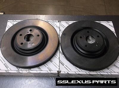 Lexus LS460 F-Sport (2013-2015) OEM Genuine FRONT BRAKE ROTOR SET - ROTORS (x2)