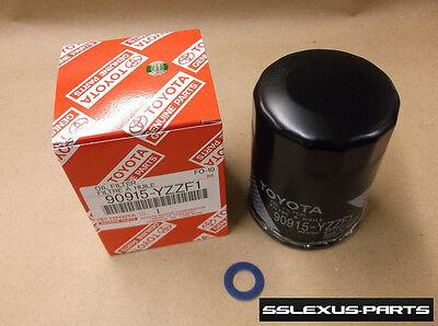 Scion Oil Drain Plug Gasket - Toyota / Lexus / Scion FACTORY OEM OIL FILTER & DRAIN PLUG GASKET 90915-YZZF1