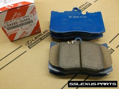 Lexus IS350 IS200T (F Sport) (2014-2017) OEM FRONT BRAKE PADS SET 04465-30450