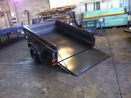 New Heavy Duty 8 x 5 Drawbar Tipper Trailer, Ideal For Golf Buggy Queanbeyan Area Preview