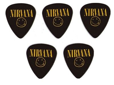 5 Puas NIRVANA Guitarra electrica bajo electro acustica 0.71MM DOBLE CARA MEDIUM