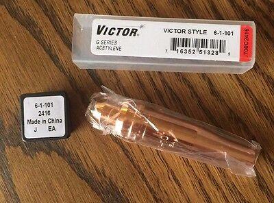 Victor 6700c2416 Cut Skill Acetylene 350 Series Cutting Tip 6-size Welding D