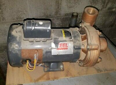 2 Hp Teel 2xz14 Bronze Centrifugal Shallow Well Water Pump 115160 3450 Rpm