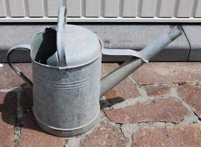 E1 Ancien arrosoir en zinc - Garden - jardin - old zinc bucket french antique 2