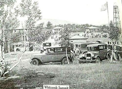 Vtg Mohawk Trail Guidebook Souvenir 1920 Massachusetts Travel Automobile Photos