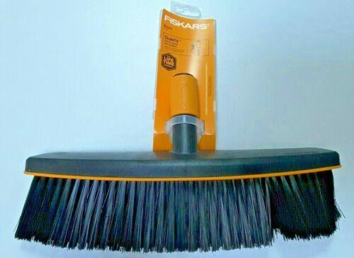 Fiskars QuickFit Broom, Black Tool Head, New, Free Shipping