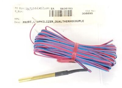 New Omega Probe Lyophilizer Dual Thermocouple