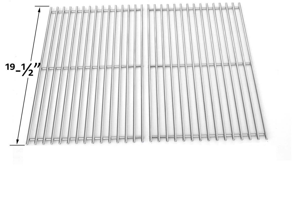 Replacement BBQ Stainless Steel Cooking Grates for Weber Gen