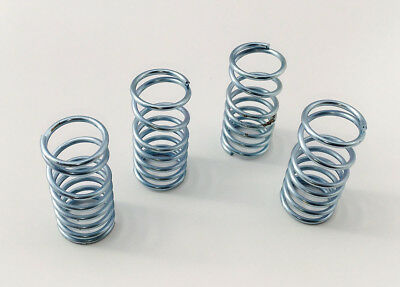 Traxxas Summit Zinc Plated Silver Dual Rate Shock Springs Set of 4 new  RC Raven