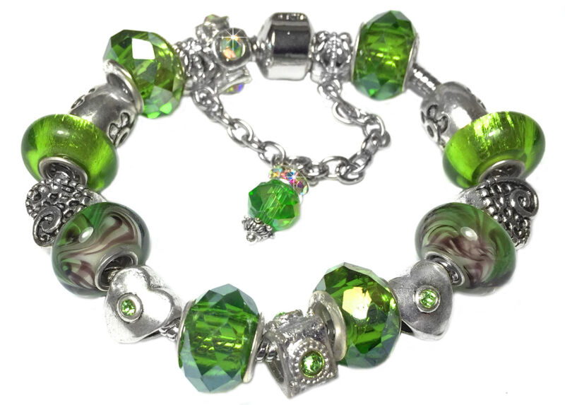 For a bracelet which is full of beads add 3cm to the size of wrist measurment.