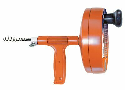 General Pipe Cleaners R-25sm Spin Thru Drain Auger With 14-inch By 25-feet
