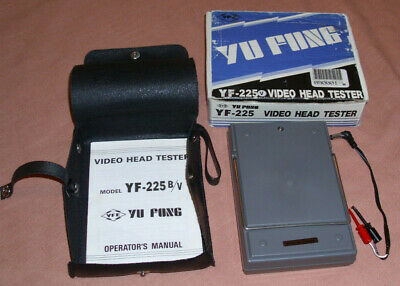 Video Head Tester By Yu Fung Yf-225 For Vhs Tape Heads Wvinyl Case Nwot New
