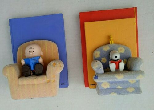 BY THE BOOK (Book Ends) Peanuts Gallery Hallmark Limited Ed. Used